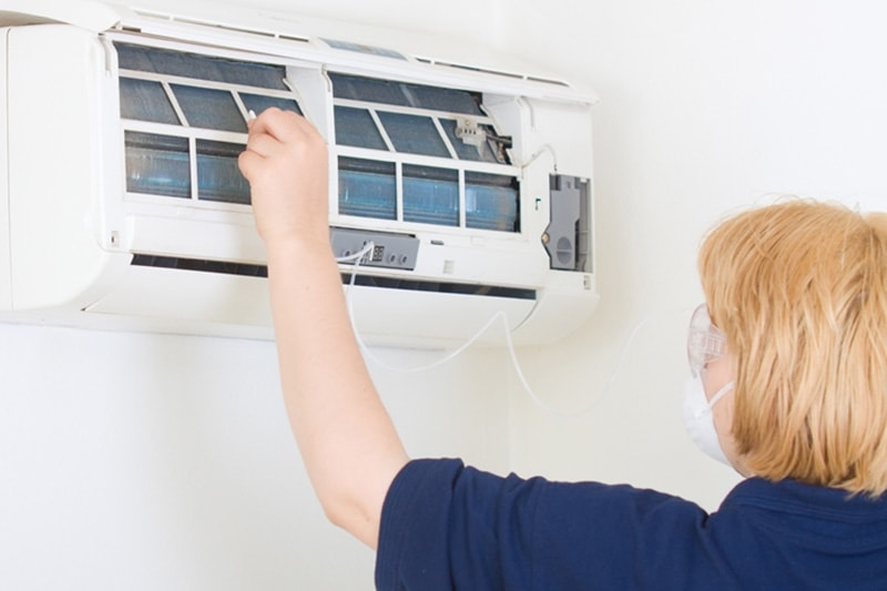 what maintenance is needed for a ductless system?